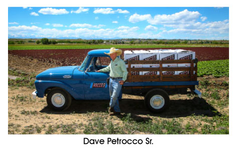 Photo of Dave Petrocco Sr. Owner of Petrocco Farms in Brighton, Colorado